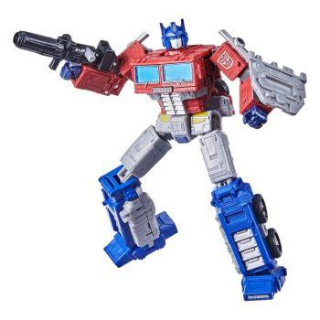 Transformers Generations War for Cybertron: Kingdom figurine Leader Class Optimus Prime 18 cm