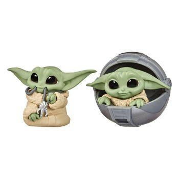 Star Wars Mandalorian Bounty Collection pack 2 figurines The Child Pram & Mandalorian Necklace