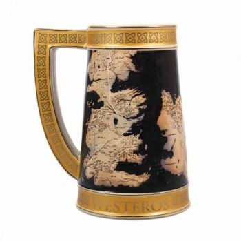 Le Trône de fer chope céramique Collectors Westeros Map