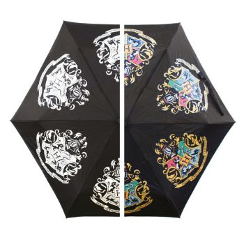 Harry Potter parapluie changeant de couleur Hogwarts Slogan