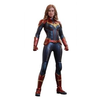 Captain Marvel figurine Movie Masterpiece 1/6 Captain Marvel 29 cm --- EMBALLAGE ENDOMMAGE