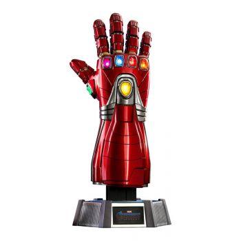 Avengers : Endgame réplique Life-Size Masterpiece 1/1 Nano Gauntlet 52 cm --- EMBALLAGE ENDOMMAGE
