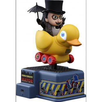 Batman : Le Défi figurine sonore et lumineuse CosRider The Penguin 13 cm --- EMBALLAGE ENDOMMAGE
