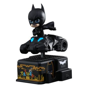 Batman The Dark Knight figurine sonore et lumineuse CosRider Batman 13 cm