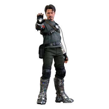 Iron Man figurine Movie Masterpiece 1/6 Tony Stark (Mech Test Deluxe Version) 30 cm