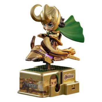 Marvel Comics figurine sonore et lumineuse CosRider Loki 15 cm