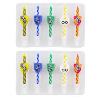 Harry Potter pack 10 bougies Logos