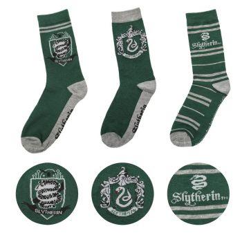 Harry Potter pack 3 paires de chaussettes Slytherin