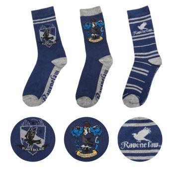 Harry Potter pack 3 paires de chaussettes Ravenclaw