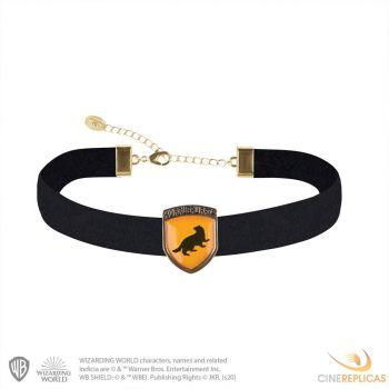 Harry Potter pendentif et collier Hufflepuff