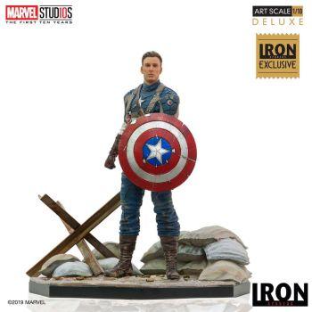 Marvel Comics statuette 1/10 BDS Art Scale Captain America First Avenger MCU 10 Years Event EX 21 cm