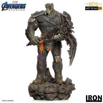 Avengers : Endgame statuette BDS Art Scale 1/10 Cull Obsidian Black Order 36 cm --- EMBALLAGE ENDOMMAGE