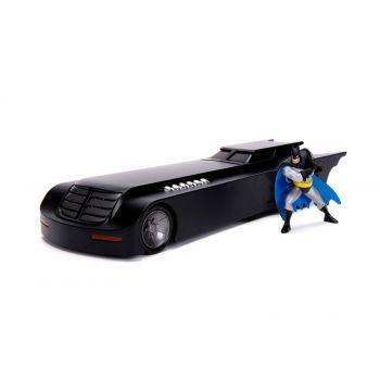 Batman Animated Series 1/24 Batmobile métal Metals avec figurine