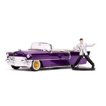 Elvis Presley 1/24 Hollywood Rides 1956 Cadillac Eldorado métal avec figurine