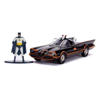Batman Classic TV Series 1/32 1966 Classic Batmobile métal avec figurine --- EMBALLAGE ENDOMMAGE