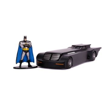 Batman The Animated Series 1/32 Hollywood Rides Batmobile métal avec figurine