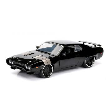 Fast & Furious 8 1/24 Dom's 1972 Plymouth GTX métal