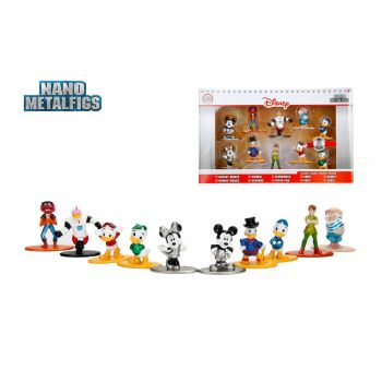 Disney pack 10 figurines Diecast Nano Metalfigs Wave 2 4 cm  --- EMBALLAGE ENDOMMAGE