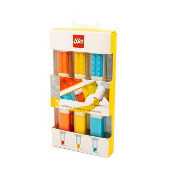 LEGO pack 3 surligneurs Bricks