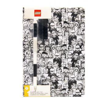 LEGO cahier avec stylo Minifigures