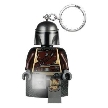 LEGO Star Wars The Mandalorian porte-clés lumineux Din Djarin 6 cm