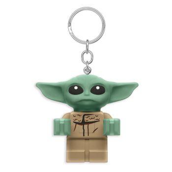 LEGO Star Wars The Mandalorian porte-clés lumineux Baby Yoda 6 cm