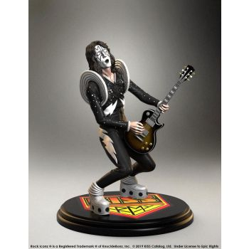 Kiss statuette Rock Iconz 1/9 The Spaceman (ALIVE!) 20 cm --- EMBALLAGE ENDOMMAGE