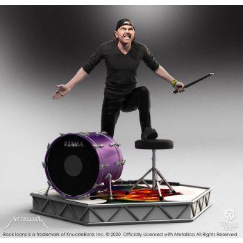 Metallica statuette Rock Iconz Lars Ulrich Limited Edition 22 cm