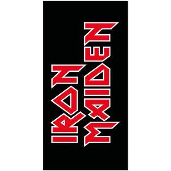 Iron Maiden serviette de bain Logo 150 x 75 cm