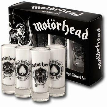 Motörhead Set 4 verres à liqueur