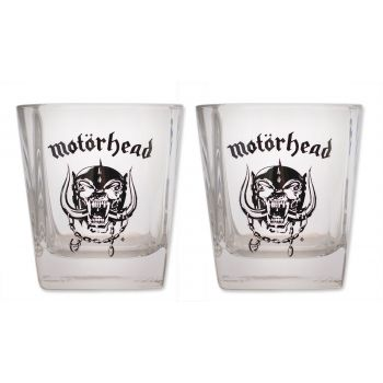 Motorhead pack 2 verres Whiskey