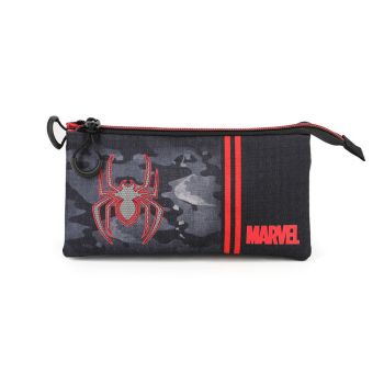 Marvel trousse Spider-Man Dark Triple