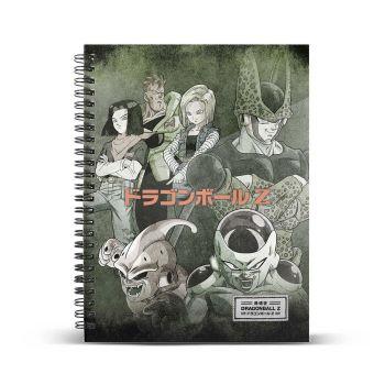 Dragon Ball carnet de notes A4 Evil
