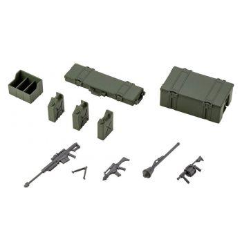 Hexa Gear accessoire pour figurines Plastic Model Kit 1/24 Army Container Set 8 cm