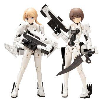 Megami Device figurine Plastic Model Kit 1/1 Wism Soldier Assault Scout 14 cm