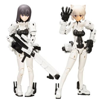 Megami Device figurine Plastic Model Kit 1/1 Wism Soldier Snipe Grapple 14 cm