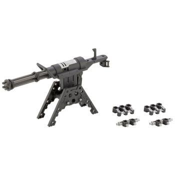 Heavy Weapon Unit MSG figurine Plastic Model Kit Gatling Gun 2 12 cm
