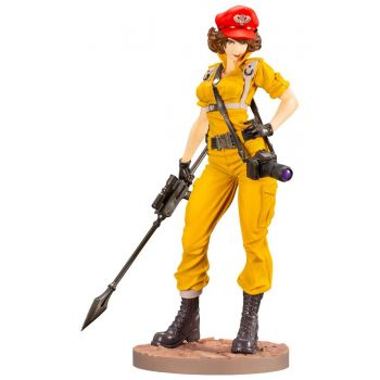 G.I. Joe Bishoujo statuette PVC 1/7 Lady Jaye Canary Ann Color Version 23 cm
