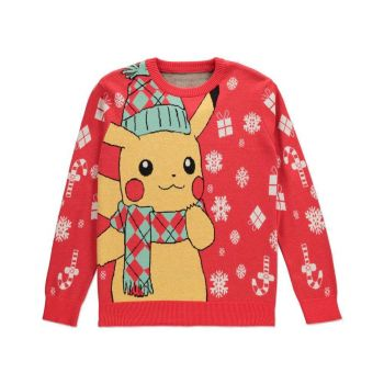 Pokémon Sweater Christmas Pikachu