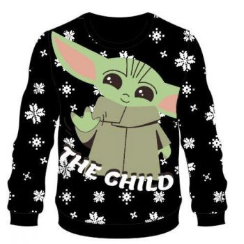 Star Wars The Mandalorian Sweater Christmas The Child