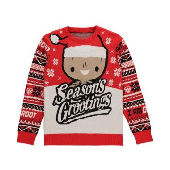 Les Gardiens de la Galaxie Sweater Christmas Season's Grootings