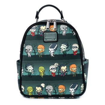 Universal Monsters by Loungefly sac à dos Chibi AOP