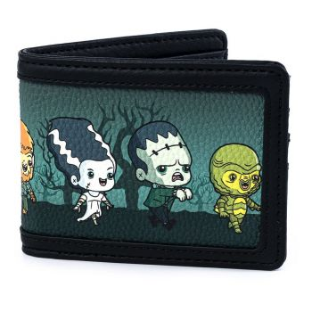 Universal Monsters by Loungefly Porte-monnaie Chibi AOP