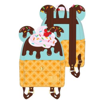 Disney by Loungefly sac à dos Mickey and Minnie Sweets Ice Cream