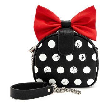 Disney by Loungefly sac à bandoulière Minnie Polka Big Red Bow