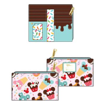 Disney by Loungefly Porte-monnaie Mickey and Minnie Sweets Ice Cream