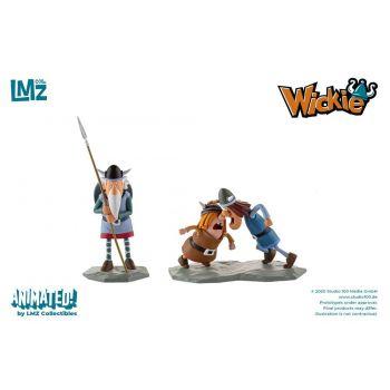 Vic le Viking coffret 3 statuettes Urobe, Snorre & Tjure 7 - 11 cm
