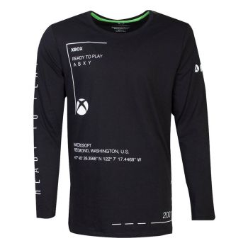 Microsoft Xbox t-shirt manches longues Ready To Play