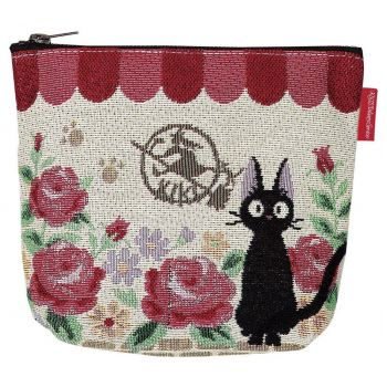 Kiki la petite sorcière porte-monnaie Jiji Roses
