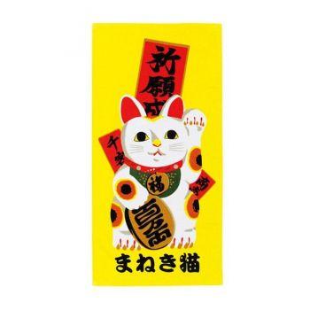 Ukiyo-e serviette de toilette Japop Maneki Neko 50 x 100 cm